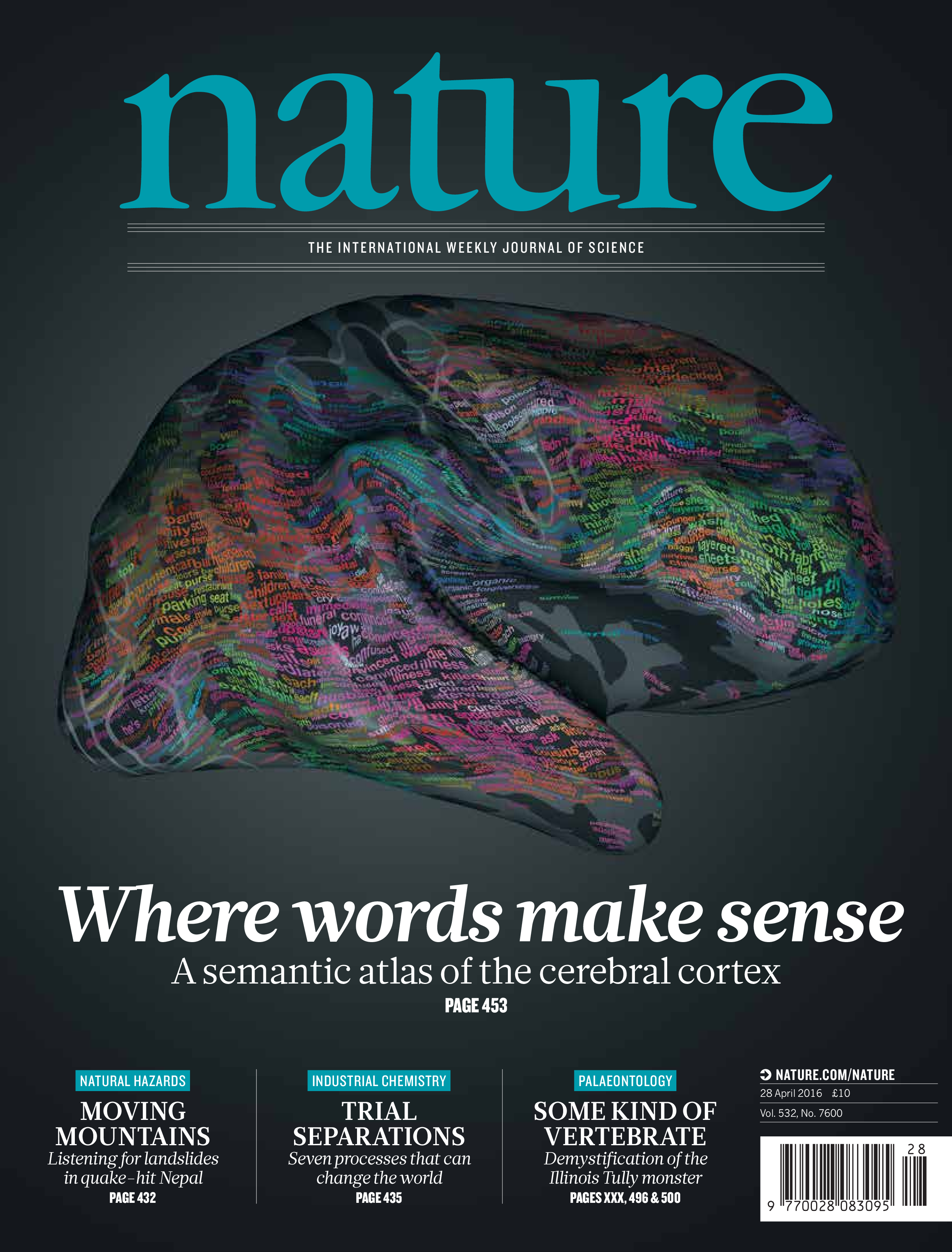 Nature article on our semantic atlas